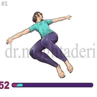 کاهش درد کمر