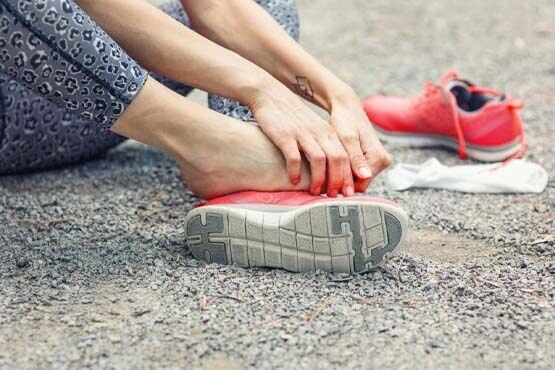 انواع شکستگی های کف پا