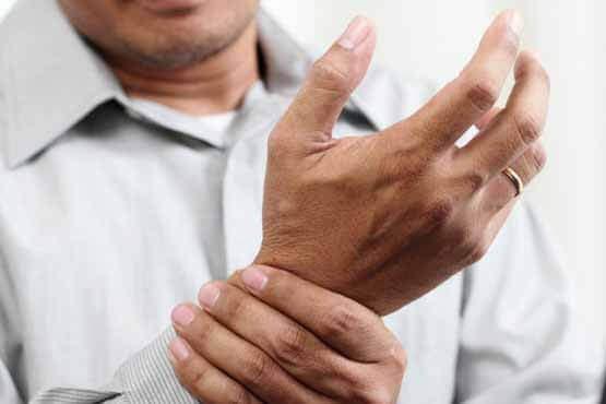 آرتروز یا ساییدگی مچ دست